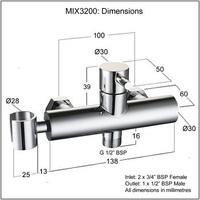 zmiesavacia bateria mix3200